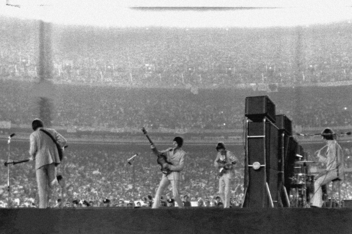 The Beatles' Epic Performance at Shea Stadium in 1965
