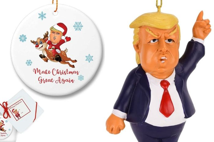 Donald Trump Christmas Ornaments Will 'Make Christmas Trees Great Again'