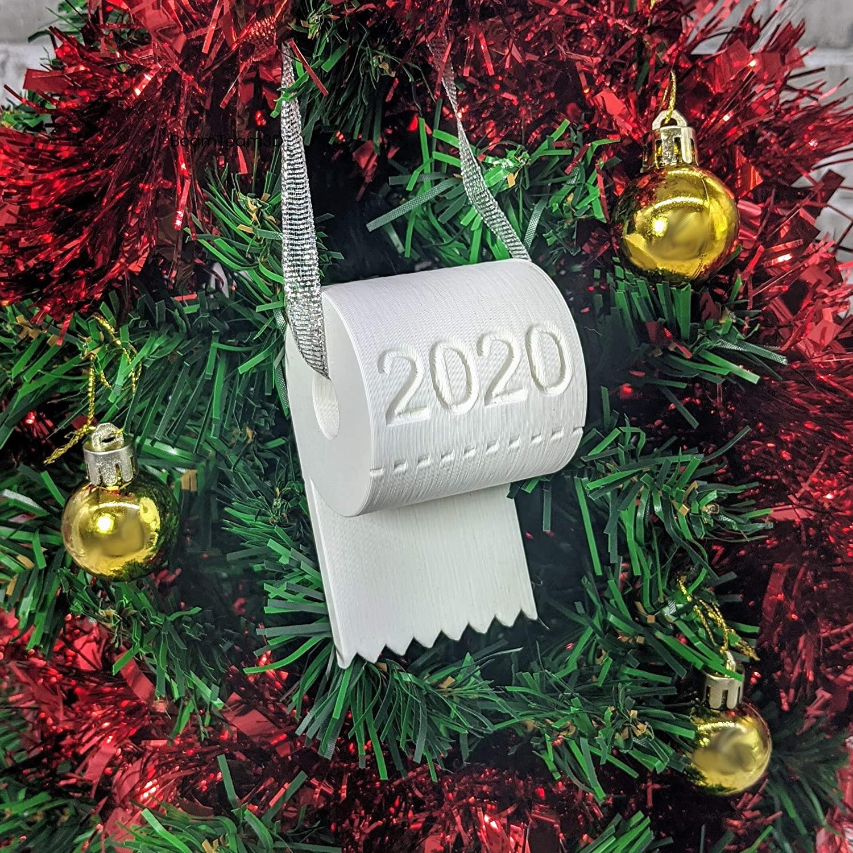 2020 Christmas Ornament Toilet Paper Crisis