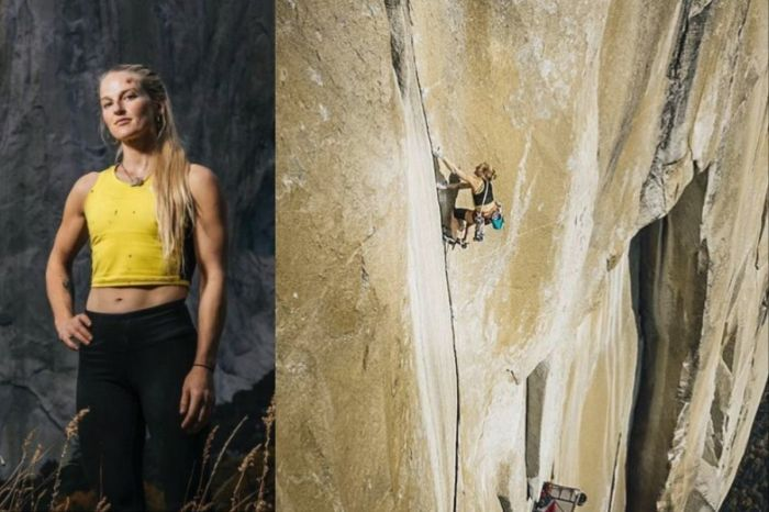 Emily Harrington Becomes First Woman To Climb 3,000 Foot El Capitan in Yosemite in 24 Hours