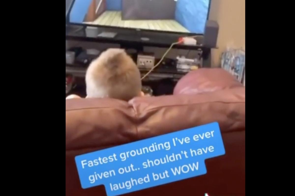 Little Boy Cursing Video Game