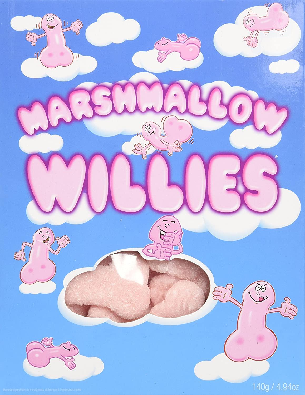 Marshmallow Willies,140g / 4.94 Oz