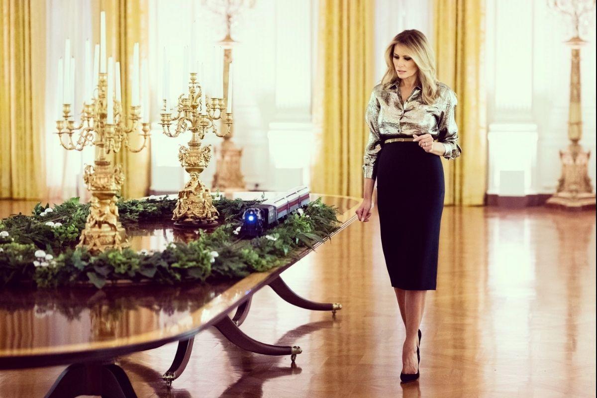 Melania Trump Reveals 2020 Theme for White House Christmas Decorations