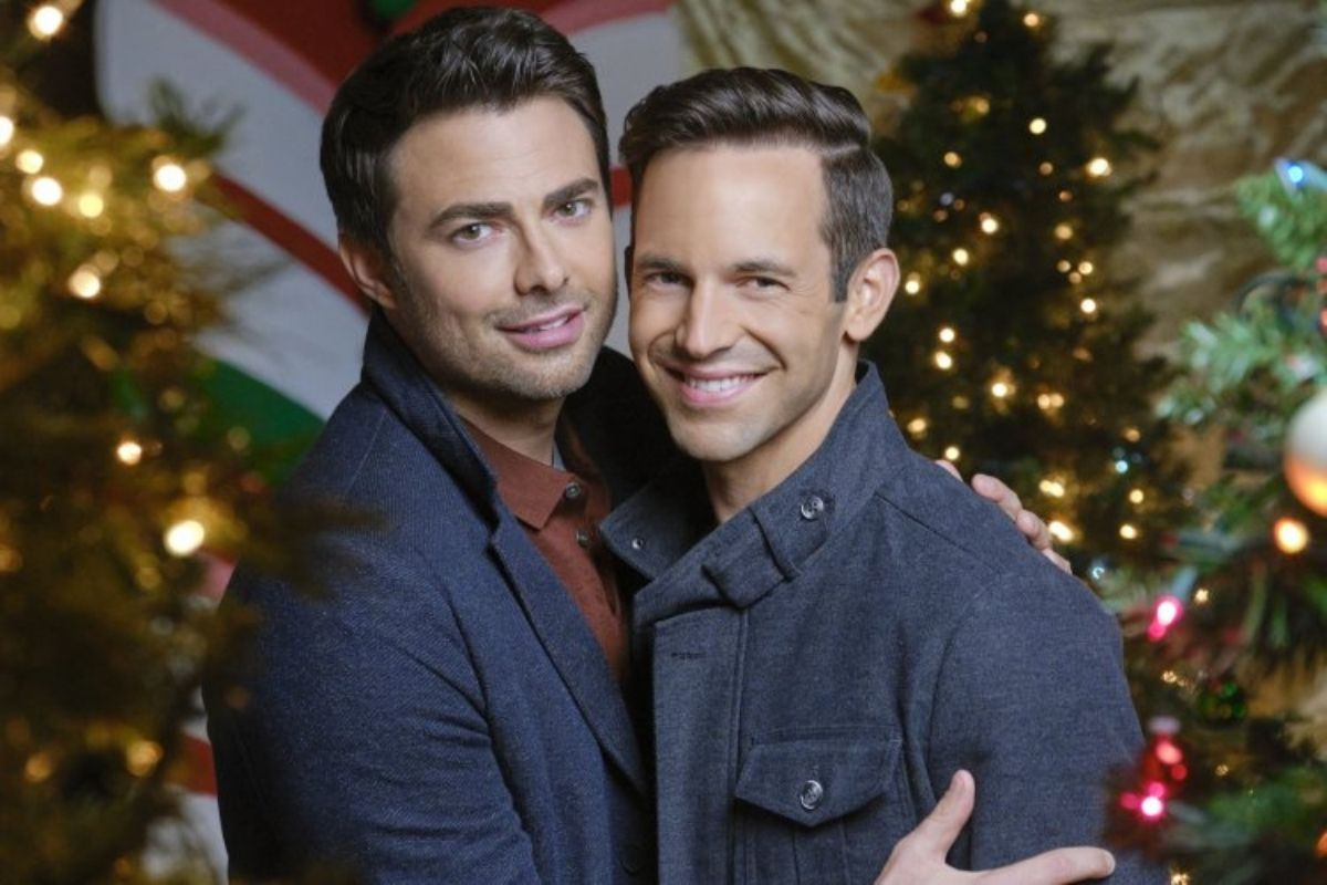 Hallmark Releases First Holiday Movie Featuring a Gay Couple