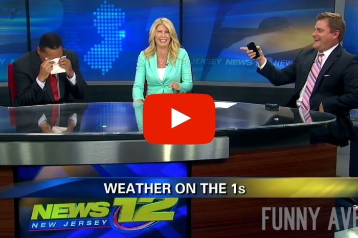 News Anchors Can't Stop Laughing at Ridiculous Clown Car Crash Report