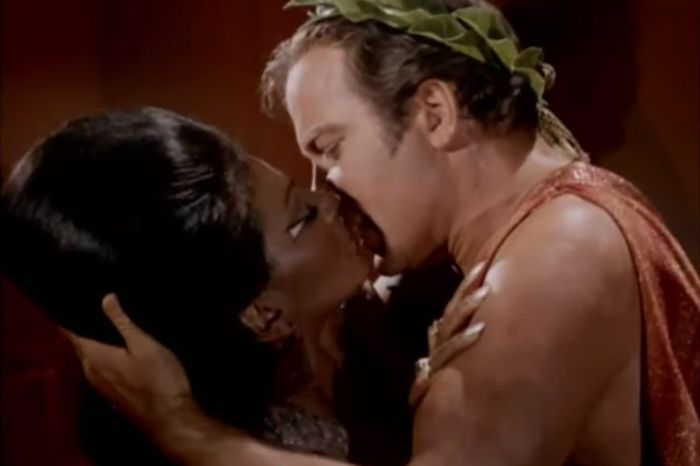 This Episode From 'Star Trek' Showed TV's First Interracial Kiss