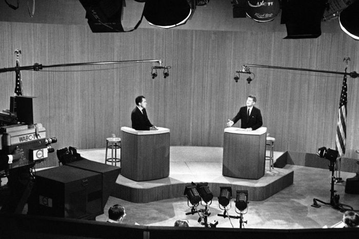 Kennedy Vs. Nixon: The First Televised Presidential Debate