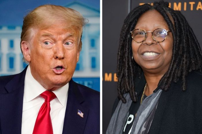 Whoopi Goldberg Tells Trump Supporters to 'Grow a Pair' and 'Suck it Up'