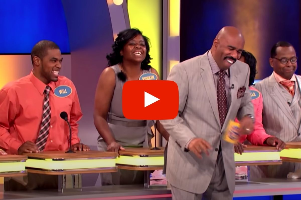 The Dumbest Answers on 'Family Feud' that Left Steve Harvey Speechless!