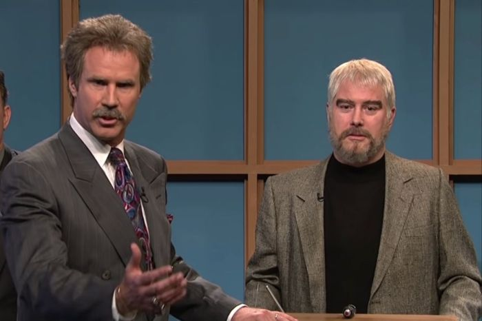 Remembering Alex Trebek and Sean Connery in SNL's Portrayal of Them on Celebrity Jeopardy""