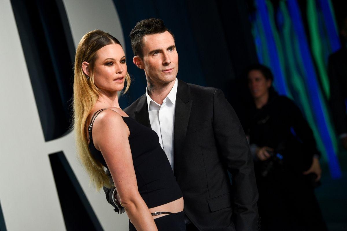 Adam Levine and Supermodel Model Behati Prinsloo Fell in Love Over E-Mails