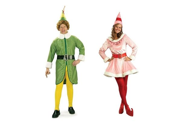 Crash Christmas Dinner in This 'Buddy the Elf' Costume