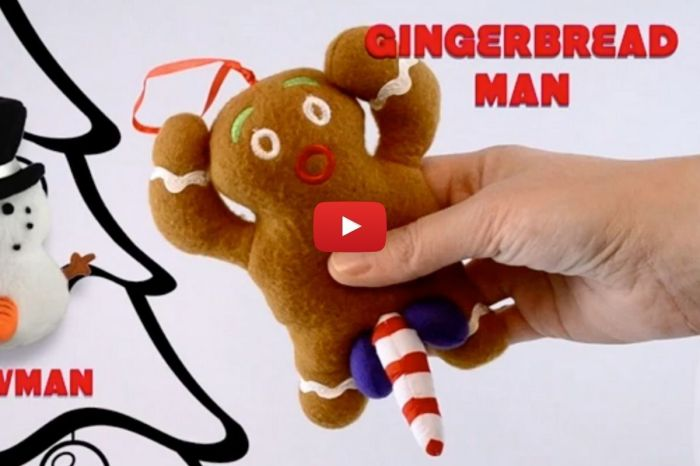 "This Naughty Gingerbread Man Talks Dirty and Wants You to ""Eat Him"""