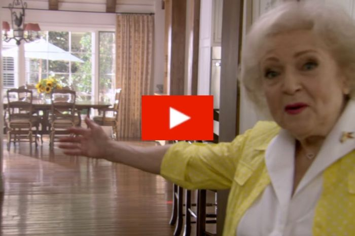Betty White Gave The Most Hilarious Tour Of Her Own House