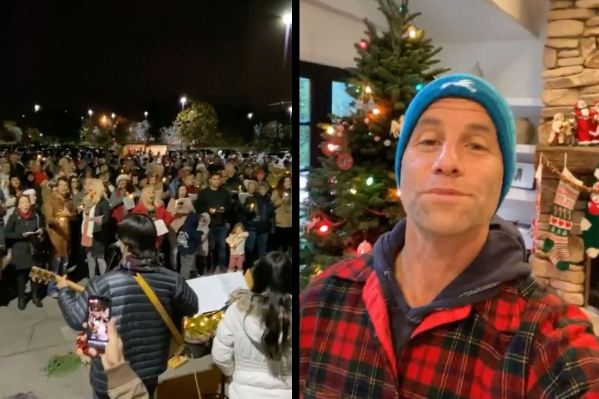 Candace Cameron Bure's Brother Holds 2nd Caroling Protest Despite COVID-19 Surges