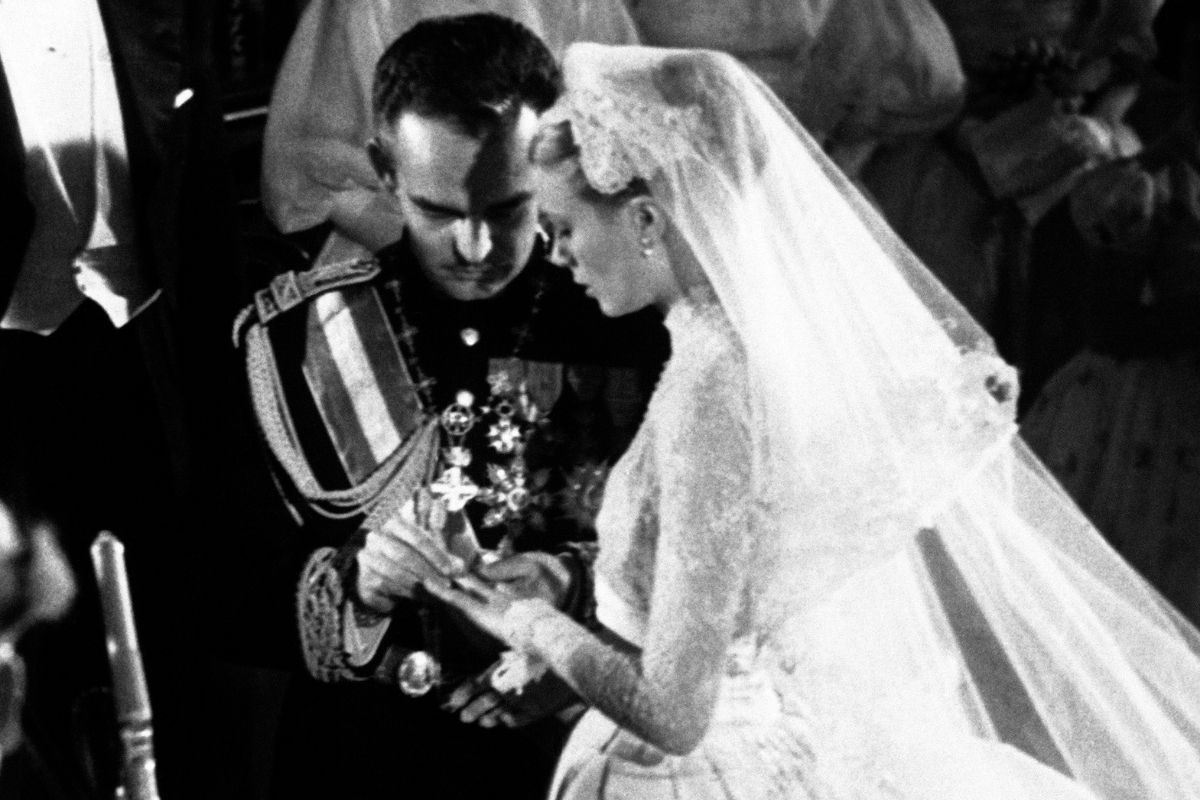 Behind Grace Kelly's Iconic Wedding Dress