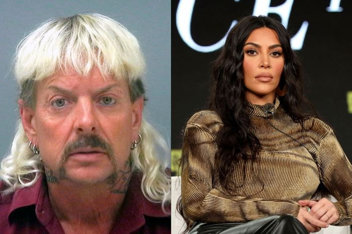 "Incarcerated ""Tiger King"" Joe Exotic Begs Kim Kardashian to Help With Presidential Pardon"