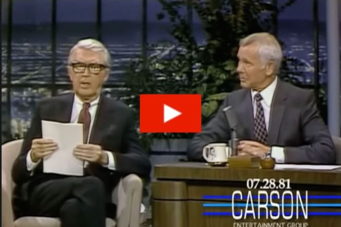 Jimmy Stewart's Touching Poem About His Dog On Johnny Carson's 'Tonight Show'