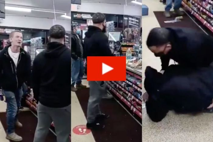 Man Gets Beaten With Twisted Tea After Yelling Racial Slurs