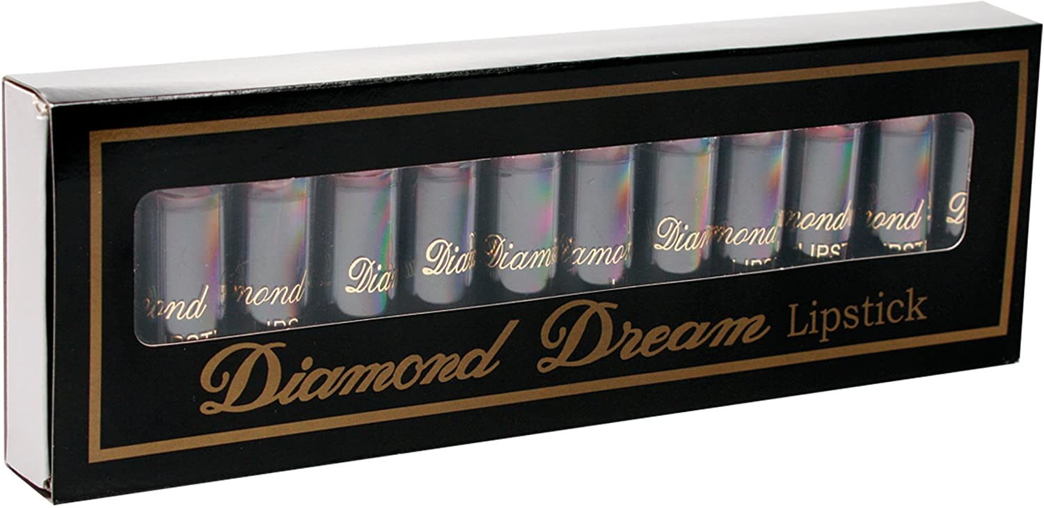 Pipedream Princessa USA Mushroom Penis Lipsticks - 12 count