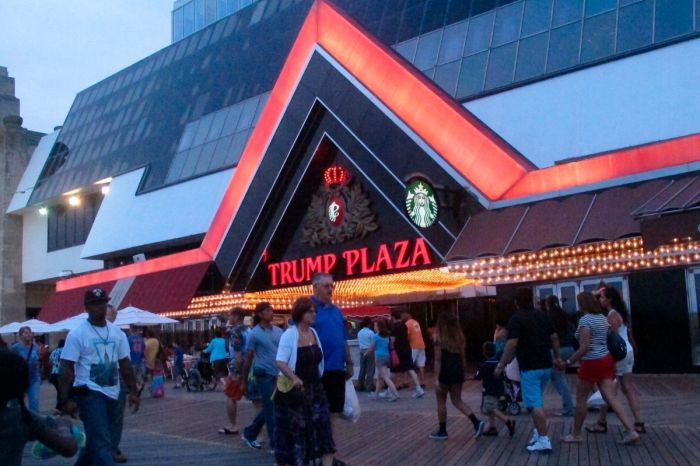 Former Trump Plaza Hotel and Casino in Atlantic City Demolished