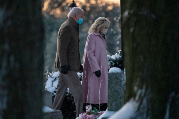 Joe Biden Visits Graves of First Wife and Baby Daughter on the 48th Anniversary of Their Death