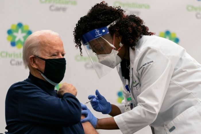 Joe Biden Receives First Dose of COVID-19 Vaccine on Live TV