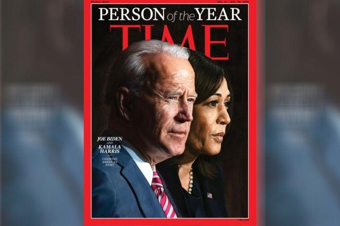 Joe Biden and Kamala Harris Named Time's 'Person of the Year'