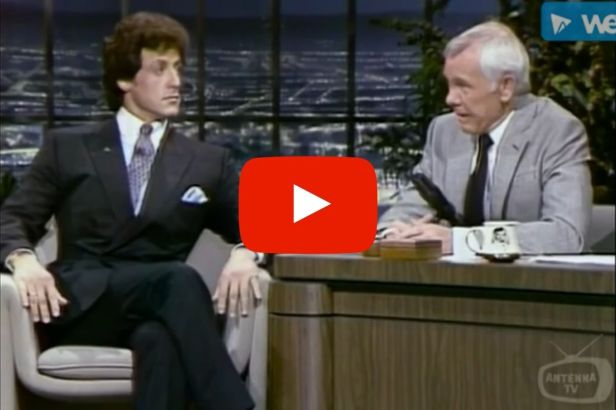 Johnny Carson Loved Talking 'Rocky' with Sylvester Stallone