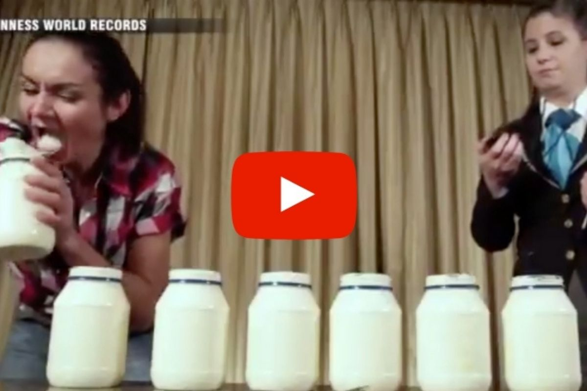 Watch This Speed-Eater DEMOLISH 3.5 Jars of Mayo in 3 Minutes