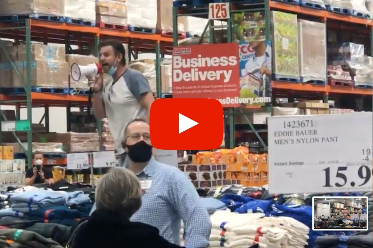 Anti-Masker Caught Ranting on Camera Inside Costco