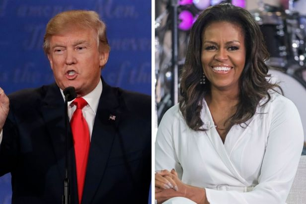Donald Trump and Michelle Obama Named Most Admired in 2020