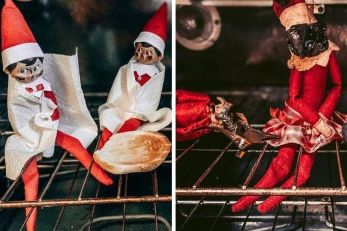 Dad Accidentally Bakes 'Elves on The Shelf' That Were Inside The Oven