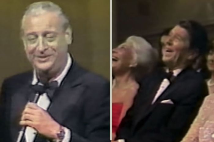 Rodney Dangerfield's 1981 Comedy Show Had President Reagan Laughing Like Crazy