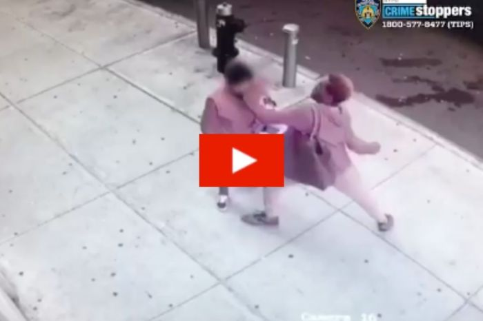 Woman Gets Randomly Slapped By Stranger Outside Of Bronx Laundromat