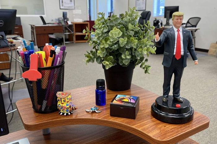 This Talking Trump Action Figure Was Probably Made in China (But Trumpers Love It)