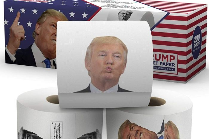 Donald Trump Toilet Paper Is Here to Combat the Toilet Paper Shortage