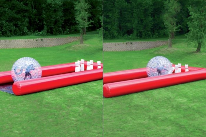 The Human Bowling Ball Will Make Spring Break Staycations Exciting