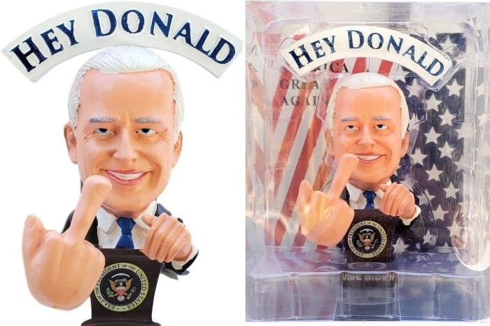 This Joe Biden Bobblehead Will Flip Off Your Friends for You