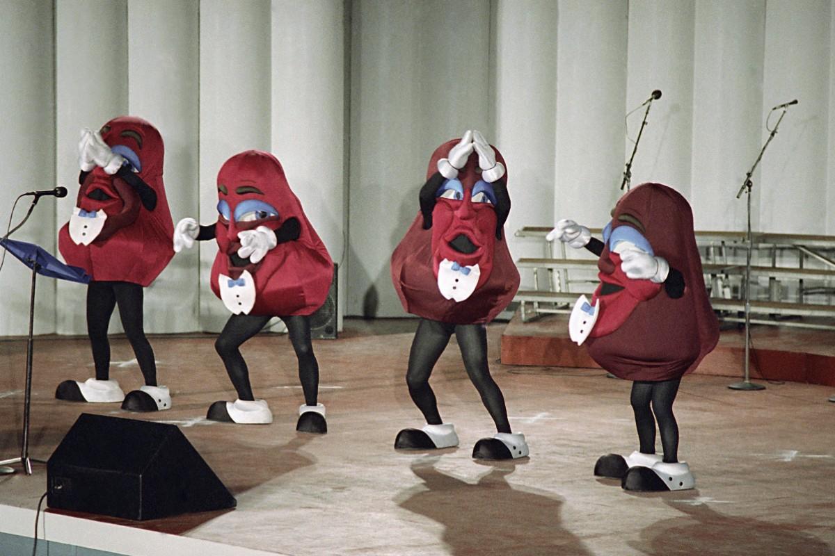 """The California Raisins Were Originally Created to """"Make Raisins Cool Again"""""""
