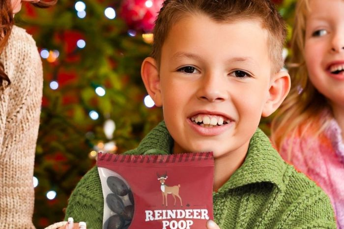 Reindeer Poop Is the Ultimate Gag Gift for Kids