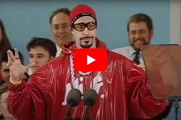 Sacha Baron Cohen's 2004 Harvard Commencement Speech Is Still Relevant