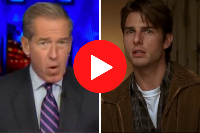 "Brian Williams ""Accidentally"" Uses Jerry Maguire Clip to Describe Trump-McCarthy Meeting"
