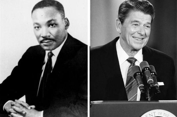 Did Ronald Reagan Think MLK Had Communist Associations?