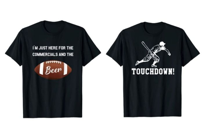 Who Needs Jerseys When Funny Super Bowl T-Shirts Exist