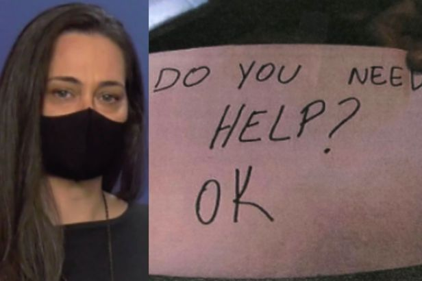 Florida Waitress Used Secret Sign to Rescue Abused Boy