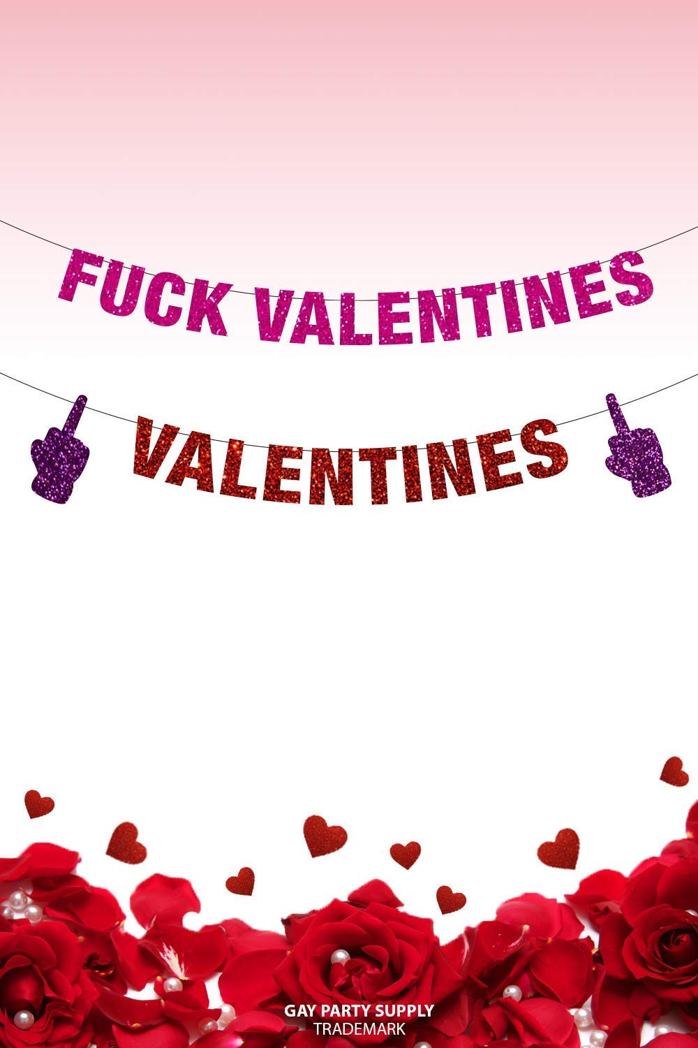 Fuck Valentine's Day Banner, Fuck Valentine's, Anti Valentines Day, Anti Valentine, Love Stinks, Funny Valentines Day Decor
