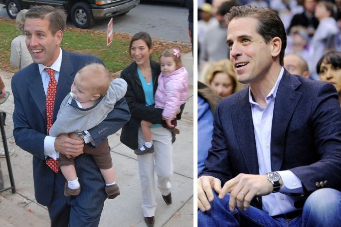 Hunter Biden Dated His Late Brother's Widow After His Death