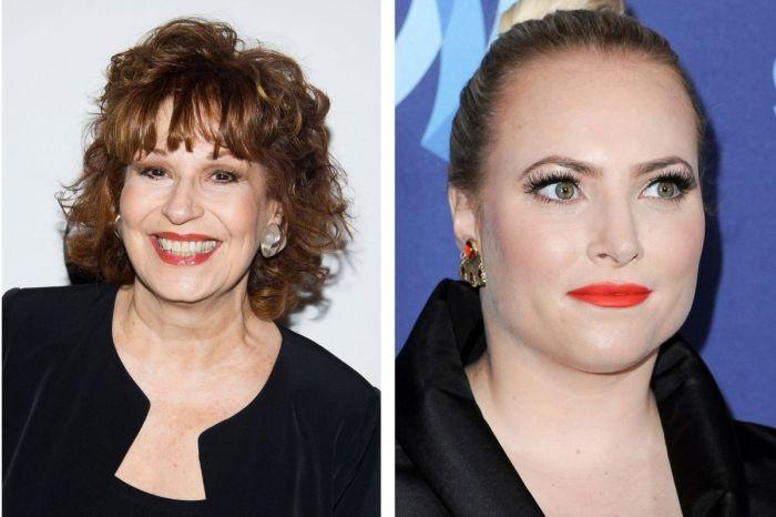 "Joy Behar Tells Fellow 'View' Co-Host Meghan McCain She ""Did Not Miss"" Her"