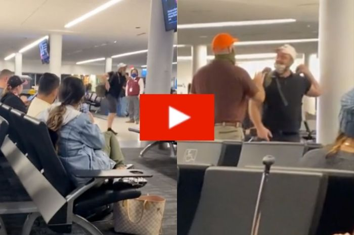 Man Throws Hilarious Public Tantrum After Getting Kicked Off Flight